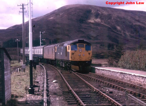 26035 at Achnasheen in 1979. John Law